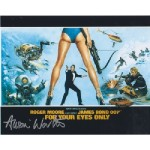James Bond Alison Worth genuine signed authentic signature photo