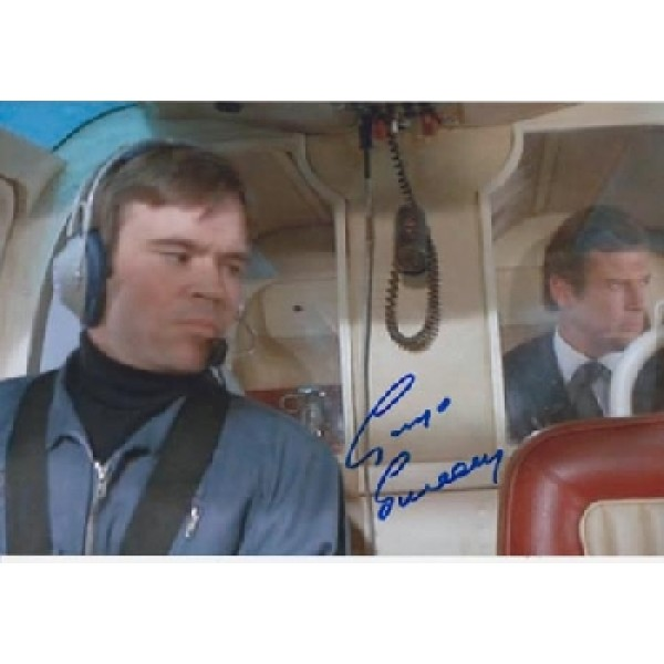 James Bond George Sweeney signed original genuine autograph authentic photo