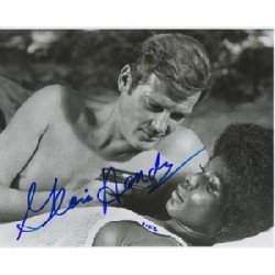 James Bond Gloria Hendry signed original genuine autograph authentic photo