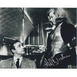 James Bond Honor Blackman signed original genuine autograph authentic photo