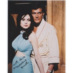 James Bond Madeline Smith signed original genuine autograph authentic photo
