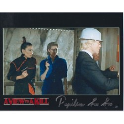 James Bond Papillon Soo Soo genuine signed authentic signature photo 10
