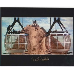 James Bond Paul Weston stunt authentic signed original genuine autograph authentic photo