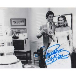 James Bond Priscilla Barnes signed autograph photo