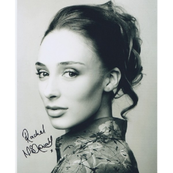 James Bond Rachel McDowell genuine signed authentic signature photo