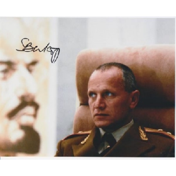 James Bond Steven Berkoff authentic signed autograph photo