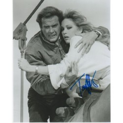 James Bond Tanya Roberts genuine signed authentic signature photo