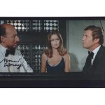 James Bond Vernon Dobtcheff signed original genuine autograph authentic photo