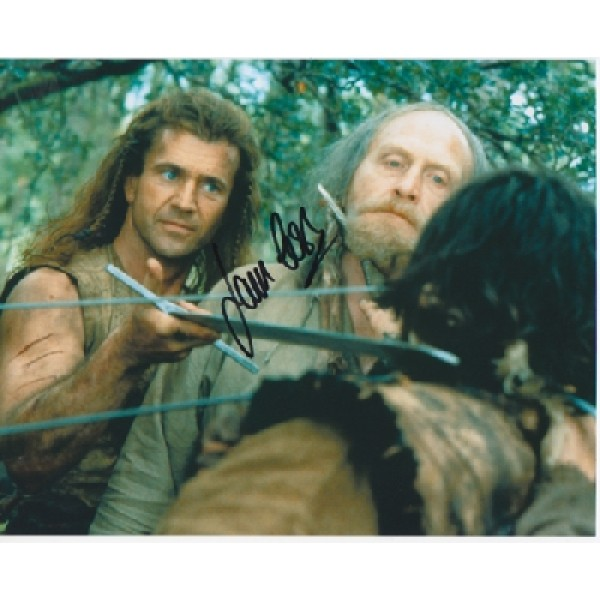 James Cosmo Mel Gibson genuine signed authentic signature photo