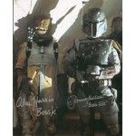Jeremy Bulloch and Alan Harris Star Wars genuine signed authentic signature photo
