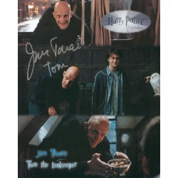 Jim Tavare Harry Potter genuine signed authentic signature photo