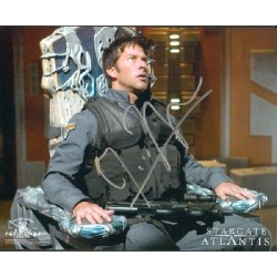 Joe Flanigan Stargate Atlantis genuine signed authentic signature photo