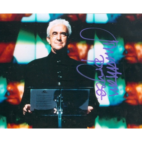 Jonathan Pryce signed autograph James Bond photo