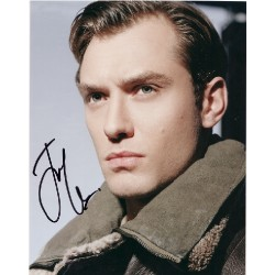 Jude Law genuine signed authentic signature photo