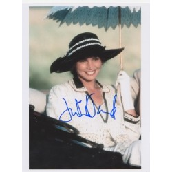 Julia Ormond signed autograph colour photo