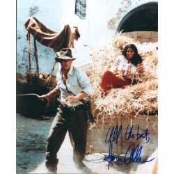 Karen Allen signed autograph photo