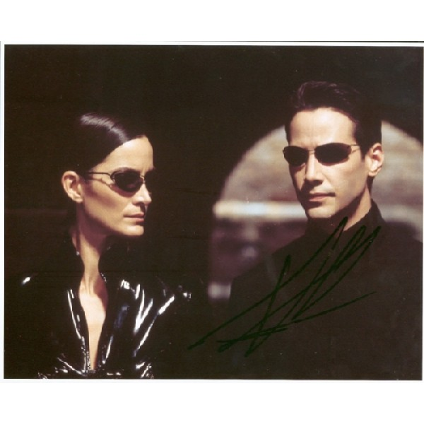 Keanu Reeves genuine signed authentic signature photo