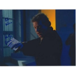 Kenneth Branagh signed autograph colour photo