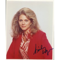 Lindsay Wagner genuine signed authentic signature photo