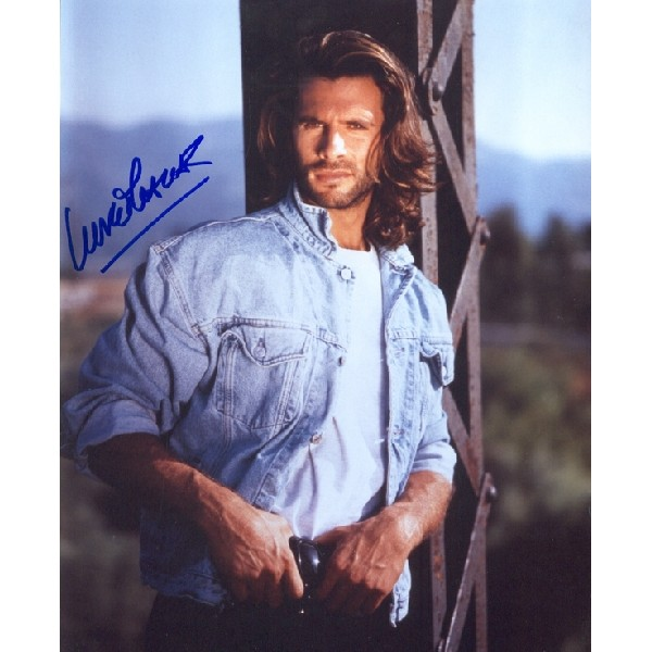 Lorenzo Lamas signed autograph photo