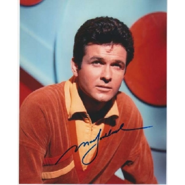 Lost in Space Mark Goddard signed autograph colour photo