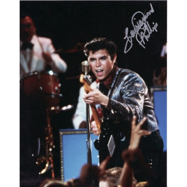 Lou Diamond Phillips La Bamba genuine signed authentic signature photo