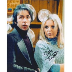 Man About the House Sally Thomsett signed autograph colour photo