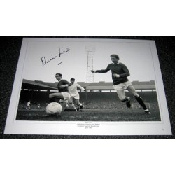 Manchester United Dennis Law original genuine authentic photo