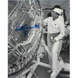 Mercury Scott Carpenter signed autograph photo