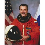 Mikhail Tyurin cosmonaut signed autograph colour photo