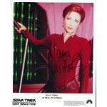 Nana Visitor Star Trek DS9 genuine signed authentic signature photo