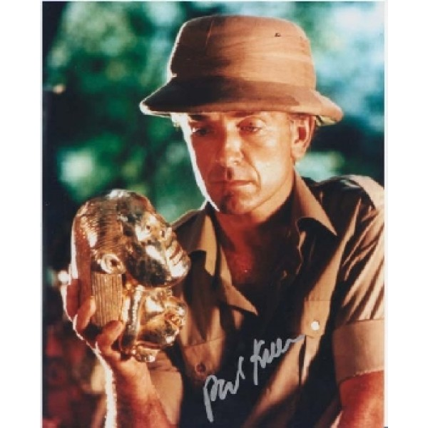 Paul Freeman Indian Jones signed autograph photo