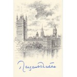 Prime Minister Margaret Thatcher signed original genuine autograph authentic
