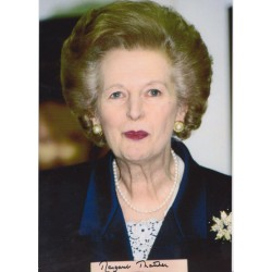 Prime Minister Margaret Thatcher signed original genuine autograph authentic photo