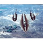 Richard Graham SR-71 Pilot genuine signed authentic signature photo