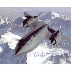 Richard Graham SR-71 Pilot signed autograph photo