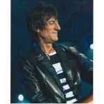 Rollling Stones Ronnie Wood signed autograph photo 1