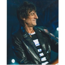 Rolling Stones Ronnie Wood signed autograph photo 1