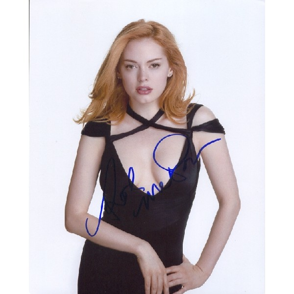 Rose McGowan Charmed genuine signed authentic signature photo