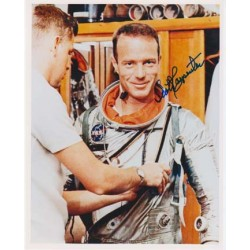 Scott Carpenter astronaut signed autograph photo