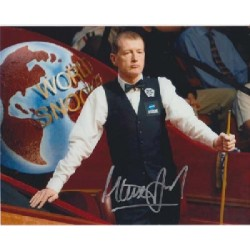 Snooker Steve Davis signed autograph photo 3