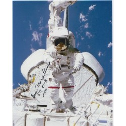 Space Bruce McCandless genuine signed authentic signature photo