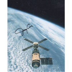 Space Skylab Jerry Carr genuine signed authentic signature photo