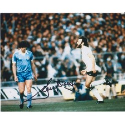 Spurs, Ricky Villa signed colour photo 4