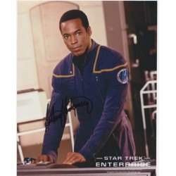 Star Trek Enterprise, Anthony Montgomery signed original genuine autograph authentic photo