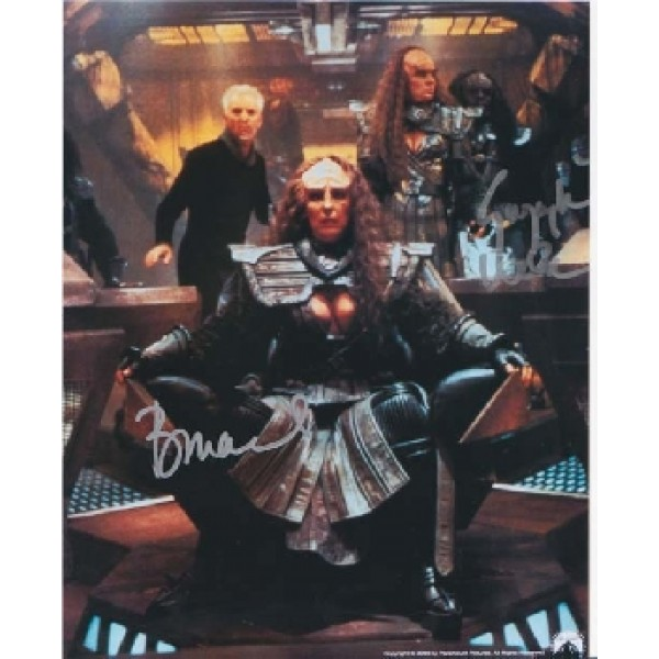 Star Trek Gwynyth Walsh & Babara Marchsigned autograph photo 3