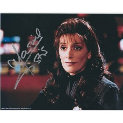 Star Trek Marina Sirtis signed original genuine autograph authentic photo