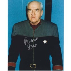 Star Trek Richard Herd signed autograph photo