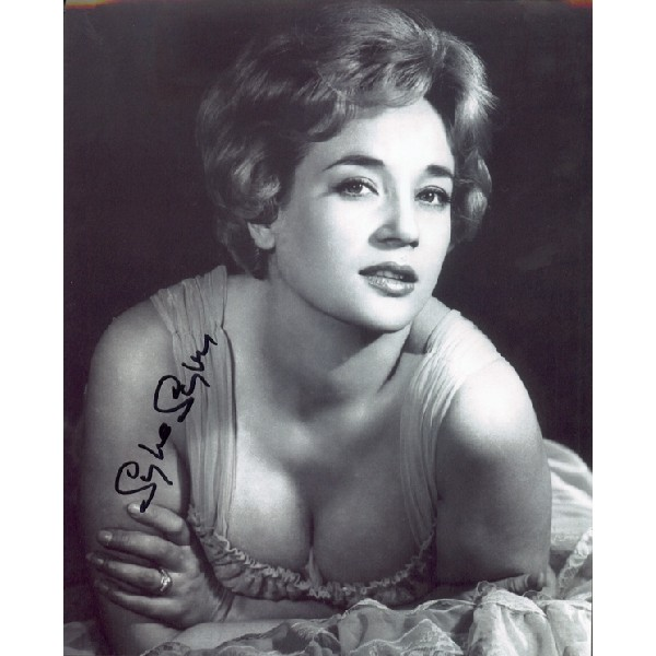 Sylvia Syms genuine signed authentic signature photo