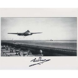 Test pilot Eric Brown signed autograph photo 2
